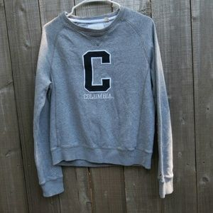 Columbia University pullover sweater
